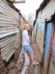 Navigating Kuwinda slum