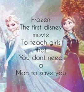 thought about Disney's Frozen