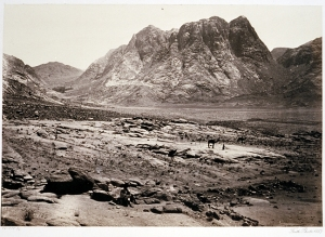 Mount Horeb, as captured by Francis Frith in 1857